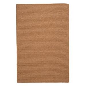Colonial Mills Westminster Evergold 4-ft Square Brown Area Rug