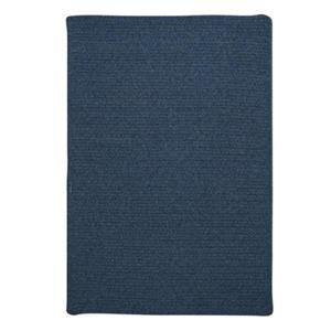 Colonial Mills Westminster 4-ft Square Federal Blue Area Rug