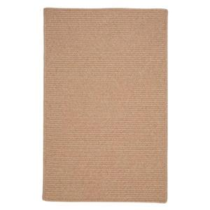 Colonial Mills Westminster Oatmeal 4-ft Square Brown Area Rug