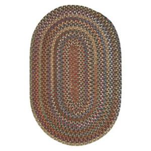 Colonial Mills Oak Harbour Dusk 8-ft x 11-ft Oval Multicoloured Area Rug