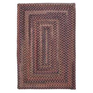 Colonial Mills Ridgevale Stone Harbor 4-ft x 6-ft Red Area Rug