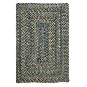 Colonial Mills Ridgevale 8-ft Square Whipple Blue Area Rug