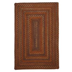 Colonial Mills Ridgevale Audubon 5-ft x 8-ft Russet Orange Area Rug
