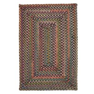 Colonial Mills Ridgevale Classic Medley 4-ft Square Red Area Rug