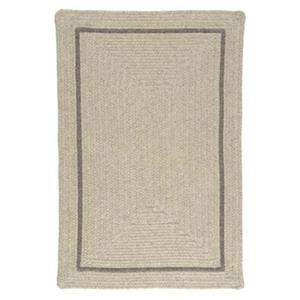 Colonial Mills Shear Natural 4-ft x 6-ft Cobblestone Area Rug