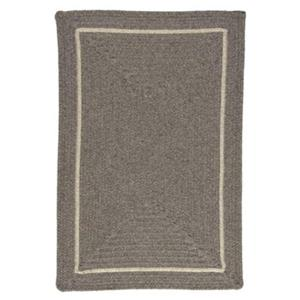 Colonial Mills Shear Natural 8-ft Square Rockport Grey Area Rug