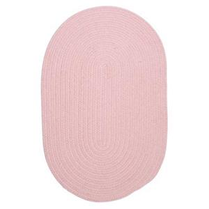 Colonial Mills Bristol 7-ft x 9-ft Blush Oval Area Rug