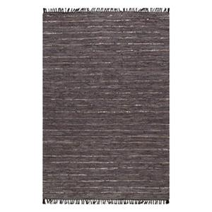 Dunwood Leather Brown Area Rug