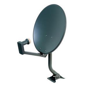 Digiwave Gray 18-in Satellite Dish