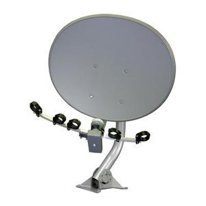 Digiwave Gray 30-in Elliiptical Satellite Dish