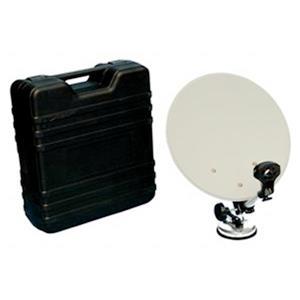 Digiwave Gray Portable Offset Satellite Dish