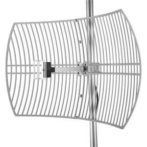 Turmode Gray Parabolic WiFi Antenna 2.4GHz