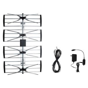 Electronicmaster Outdoor Tv Antenna With Booster Lowe S