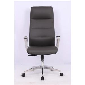 TygerClaw 21-in x 49.61-in Black Upholstered Office Chair
