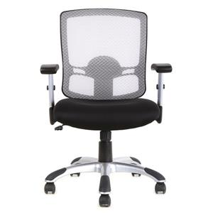 TygerClaw 20.9-in x 21.5-in White Mesh Office Chair