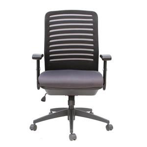 TygerClaw 20.5-in x 21.5-in Black Faux Leather Office Chair