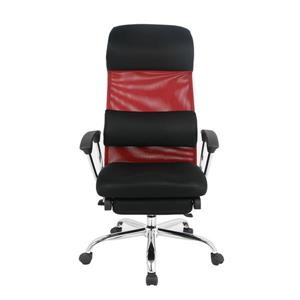 TygerClaw 19.7-in x 20-in Red Mesh Office Chair
