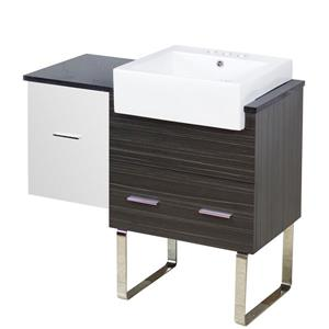 Xena Farmhouse 37-in Floor Mount Vanity Set