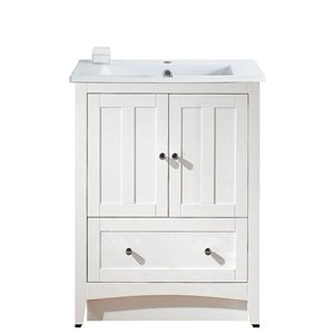 Shaker 30-in Floor Mount Vanity