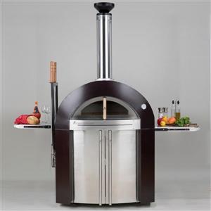 Forno Venetzia Bellagio 500 44-in Copper Outdoor Wood-Fired Pizza Oven