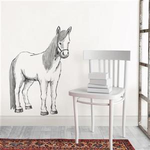 WallPops Saddle Up Wall Art Kit