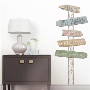 WallPops The Road Home Wall Art Kit