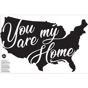 WallPops You Are My Home Wall Art Kit