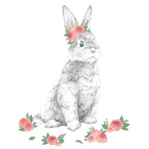 WallPops Tabitha the Bunny Wall Art Kit
