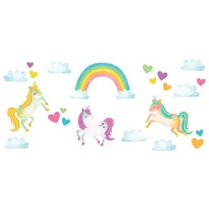 WallPops One Love Unicorns Wall Art Kit
