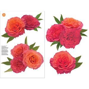 WallPops Sunset Rose Wall Art Kit