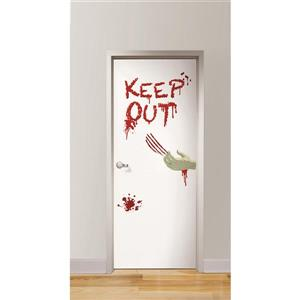 WallPops Zombies Inside Door Decal