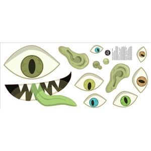 WallPops Eye Monster Door Decal