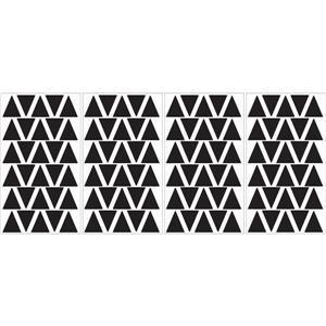 WallPops Black Triangle MiniPops Wall Art Kit