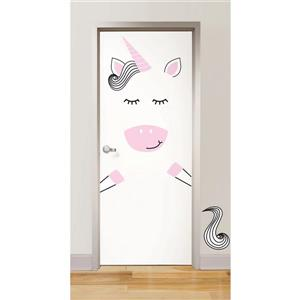 WallPops Gigi the Unicorn Door Decal