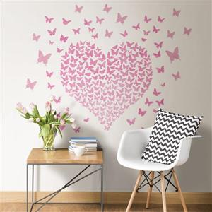 WallPops Heart to Heart Wall Quote