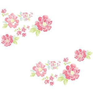 WallPops Sitting Pretty Flowers Wall Art Kit