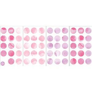 WallPops Watercolor Dots Wall Art Kit