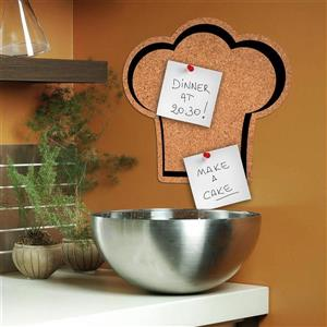 WallPops Chef's Hat Cork Pin Board Decal