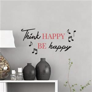 WallPops Think Happy Wall Quotes