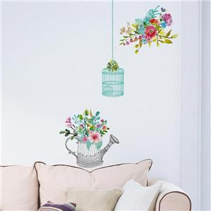 WallPops Romantic Flowers Wall Decal
