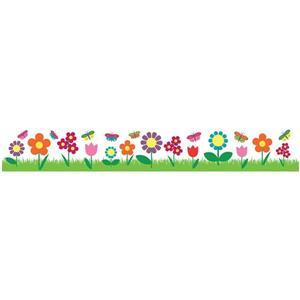 WallPops Flowers Border Decal