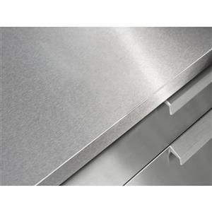 """NewAge Products Outdoor Kitchen Countertop - Stainless Steel - 64"""""""