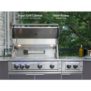 NewAge Products Outdoor Kitchen Aluminum 3 Piece Set