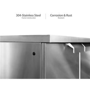 NewAge Products Outdoor Kitchen Stainless Steel 6 Piece Set
