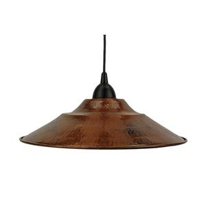 Premier Copper Products 13-In Copper 1-Light Pendant Light