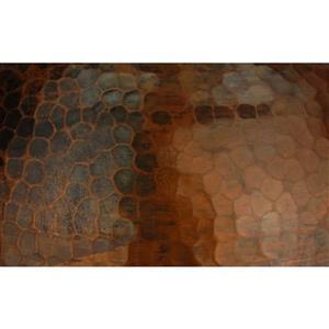Premier Copper Products 8.5-in Copper Dome Pendant Light