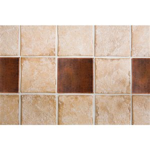 Premier Copper Products Oil Rubbed Bronze Copper Tile 4-in x 4-in (8 pack)