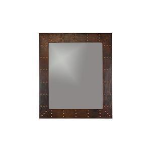 Premier Copper Products 36-in Copper Rectangle Bathroom Mirror