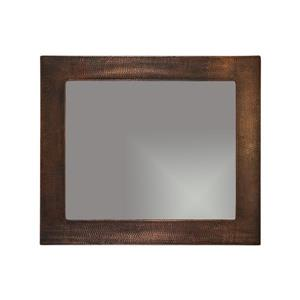 Premier Copper Products 36-in Copper Rectangle Bathroom Mirror