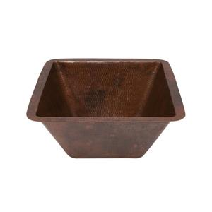 Premier Copper Products Sink with Faucet and Drain - Copper